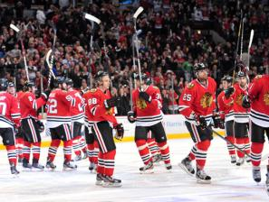 Minnesota and Chicago Play Game One of Second-Round Series Friday