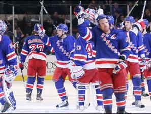 Rangers Return Home Thursday One Win from Stanley Cup Finals